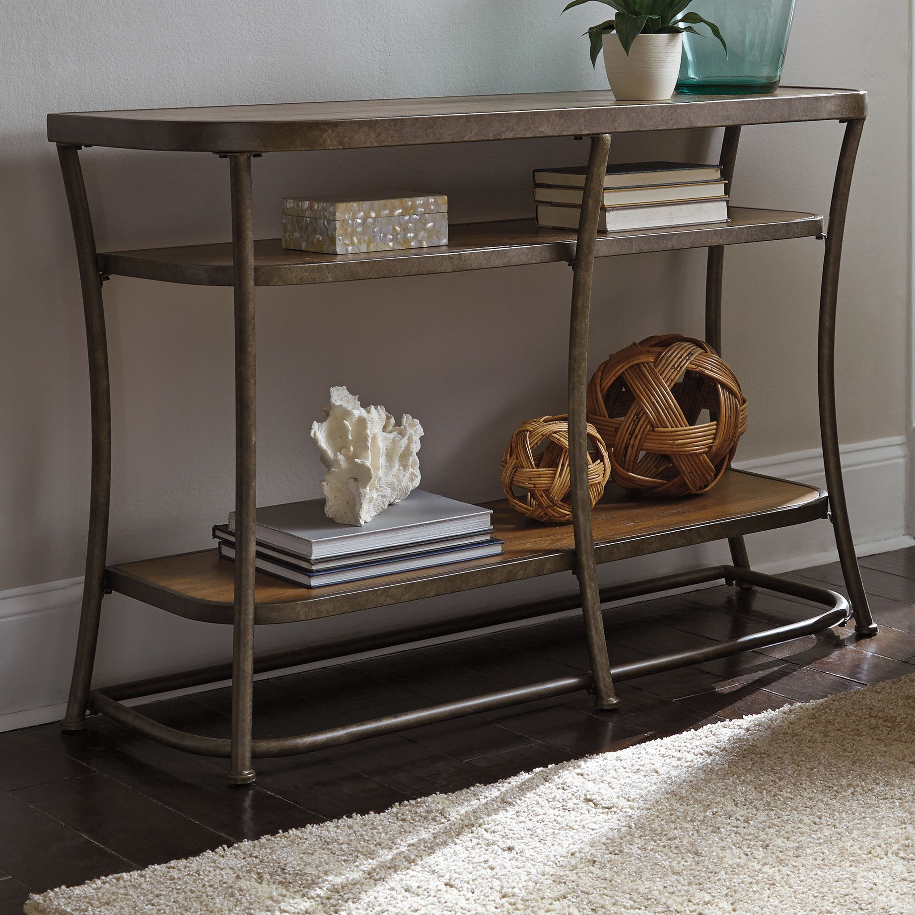 Nartina Console Table Movin On Up Rustic Console