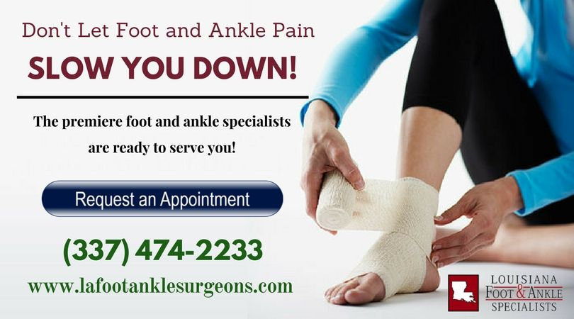 Advanced foot care center in lake charles feet care