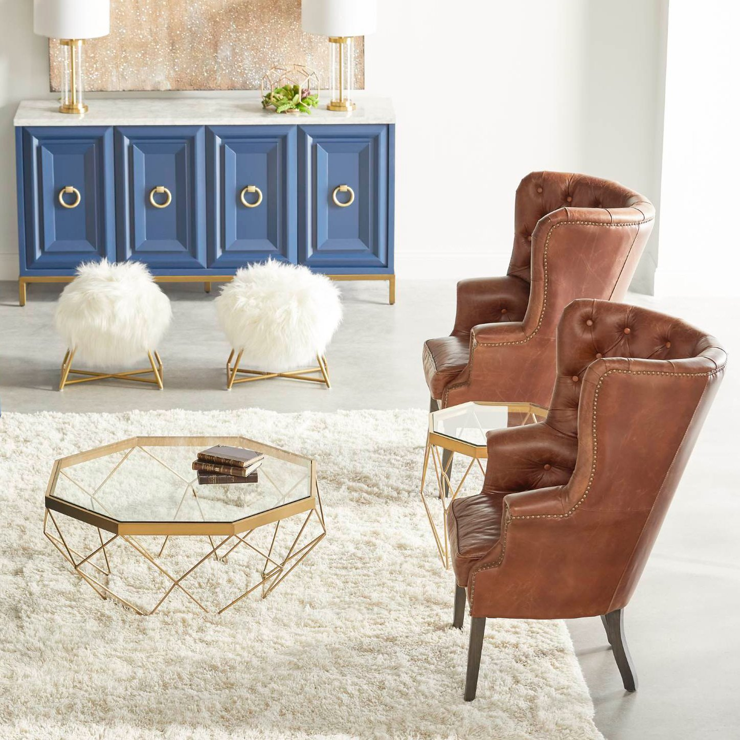 Winchester leather club chair in my furniture pinterest