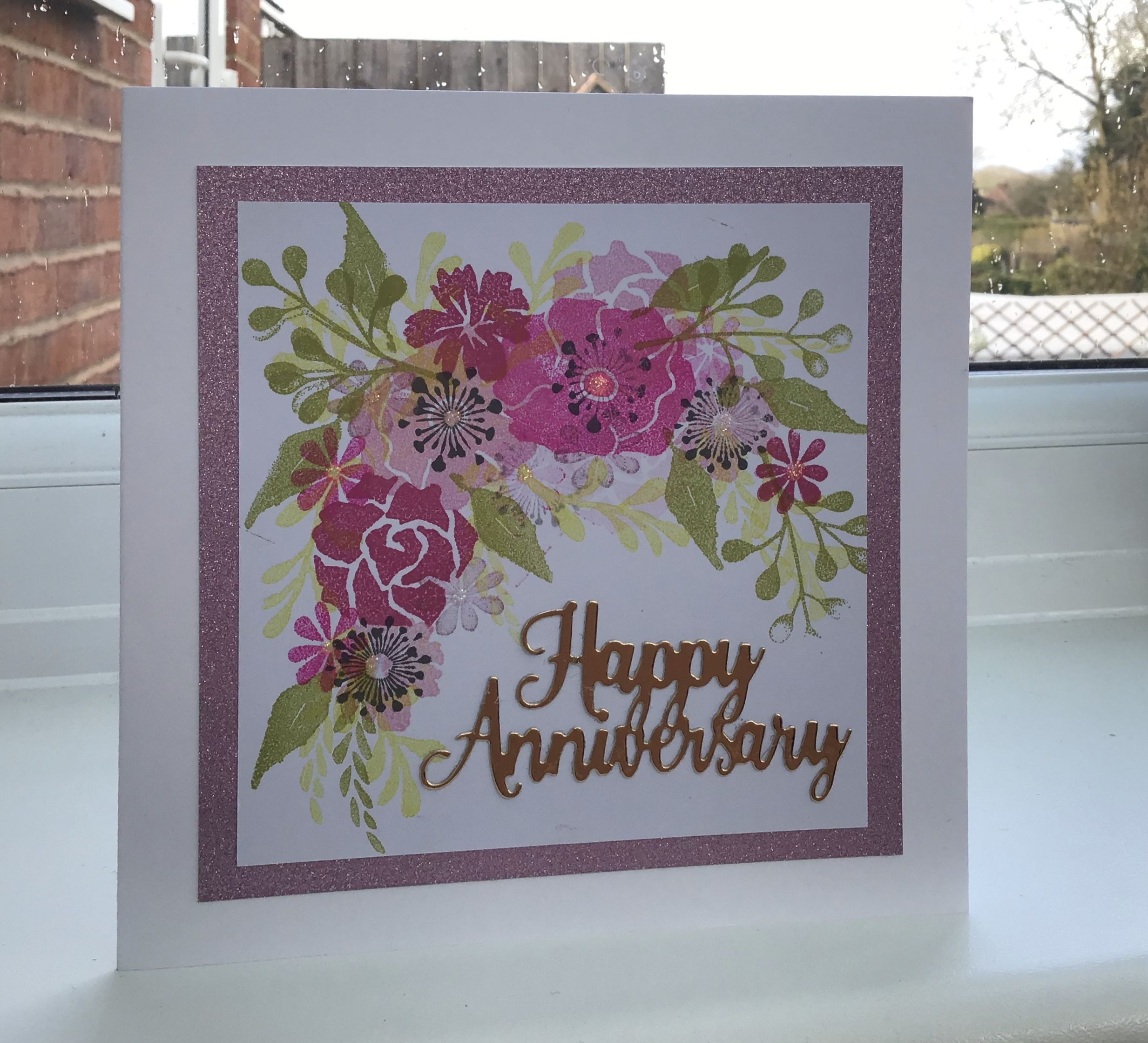 sara signature garden of love collection floral stamps