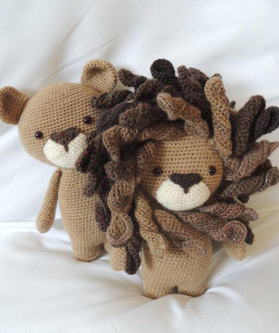 Crochet pattern Boris the lion - Amigurumi pattern | crafts ...