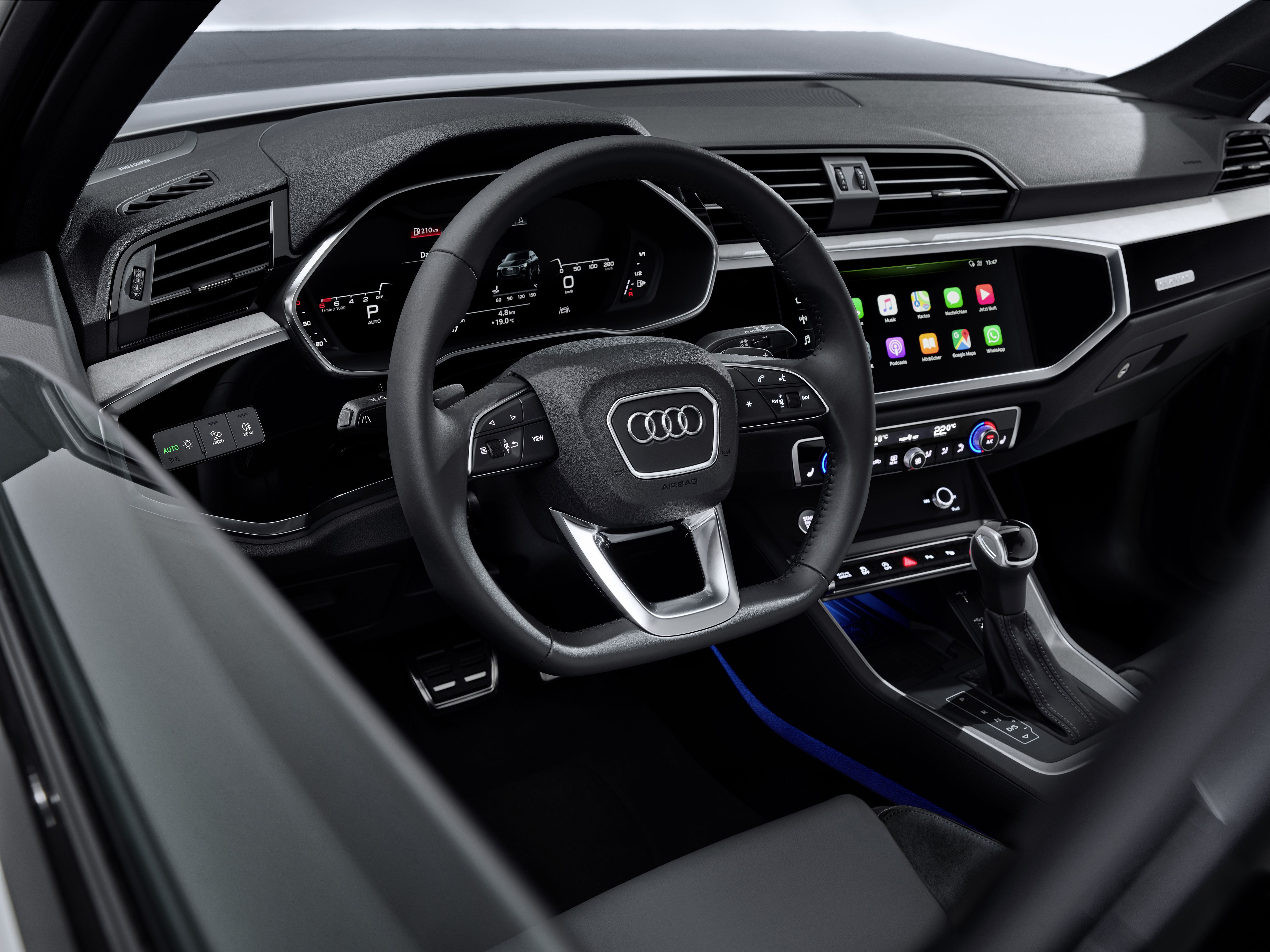 2020 Audi Q3 Sportback Interior Exterior And Driveaudi Is Adding A Compact Suv In Coupe Shape To Its Model Range The 2020 Audi Q3 Comes With Two Row Seating Co