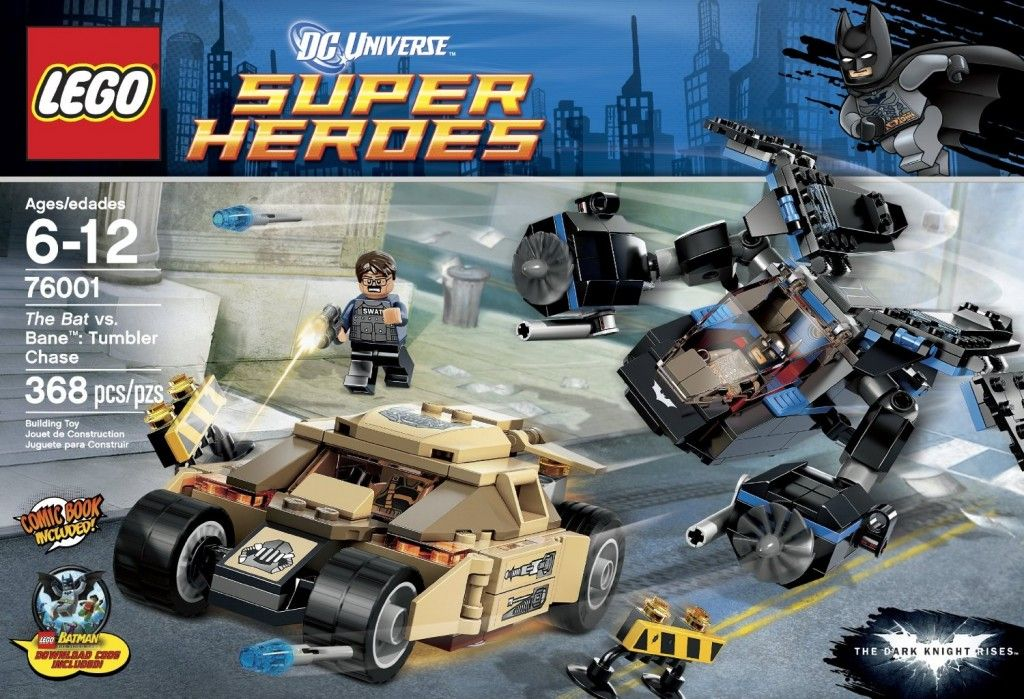 9 - The Dark Knight Rises: Tumbler Chase Best 11 Lego Sets from ...