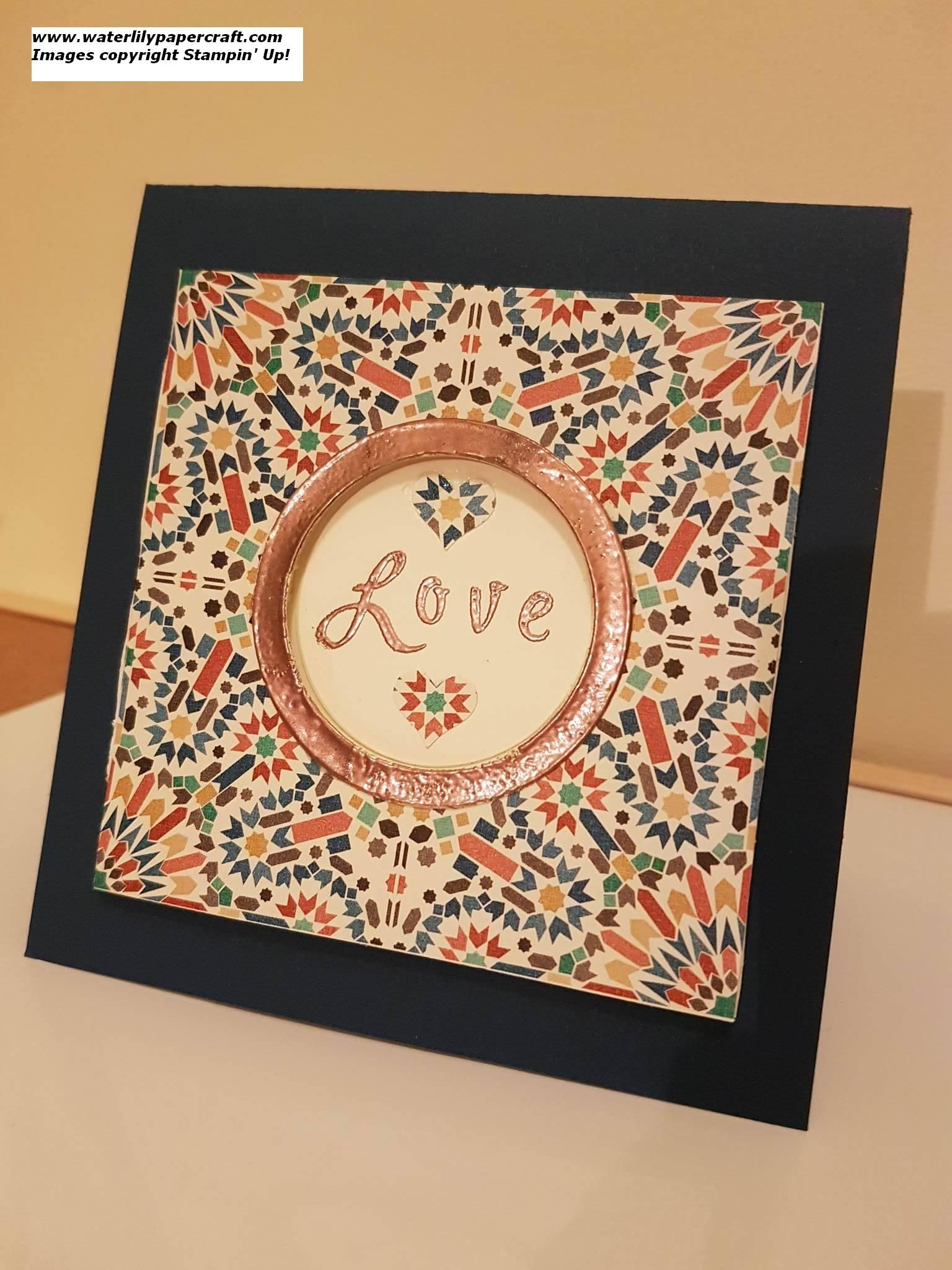 Moroccan Night Stampin' Up!
