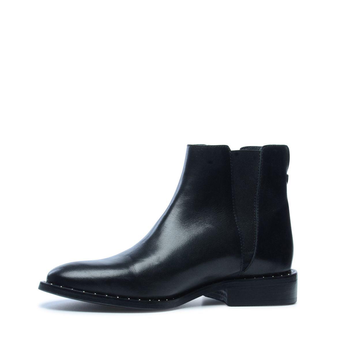 boots clous cuir en Chelsea avec argentésProducts sQhdtrCx