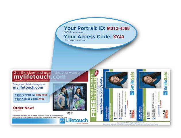 Find Picture Day ID or Portrait ID - My Lifetouch | Products I Love
