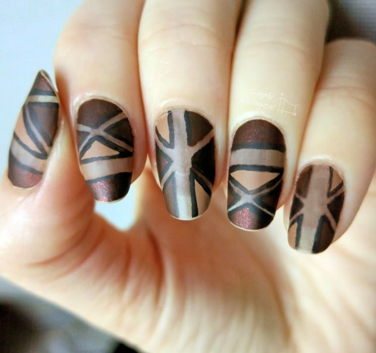 Crispy and Fun Brown Nail Designs For 2017 - Styles Art | Nails ...