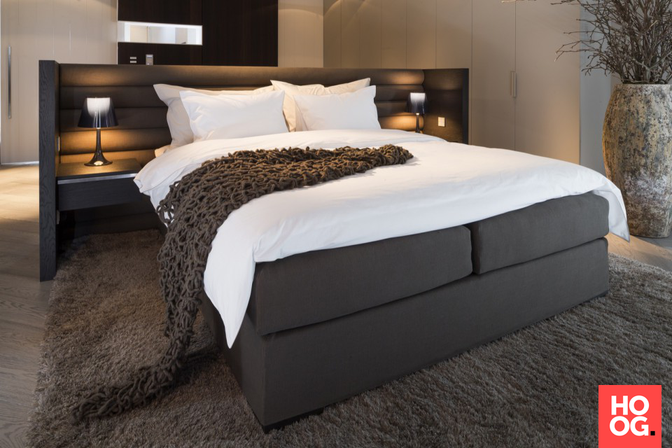 Hotel Slaapkamer Inrichting : Slaapkamer inrichting met luxe bed slaapkamer design bedroom