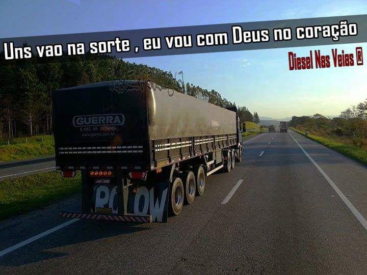 Deus No Comando Caminhão Carreta Frases De Caminhão E