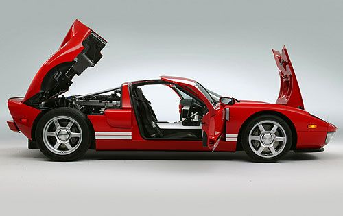Ford Gt Rear Deck Lid Transfer That Function To The Fiero Ford Gt Ford Gt 2005 Ford Gt40