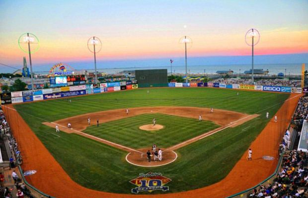 The 25 Coolest Minor League Ballparks In America Baseball Stadium Ballparks Minor League Baseball