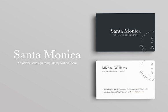 Santa monica business card pinterest business cards business santa monica product description colourmoves