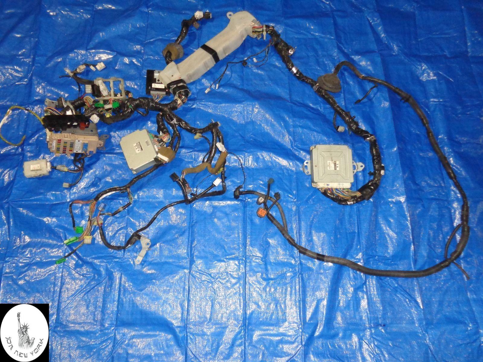 Ecu Wiring Harness Http Auctioncarsonline Product Jdm Subaru Impreza Wrx Gga
