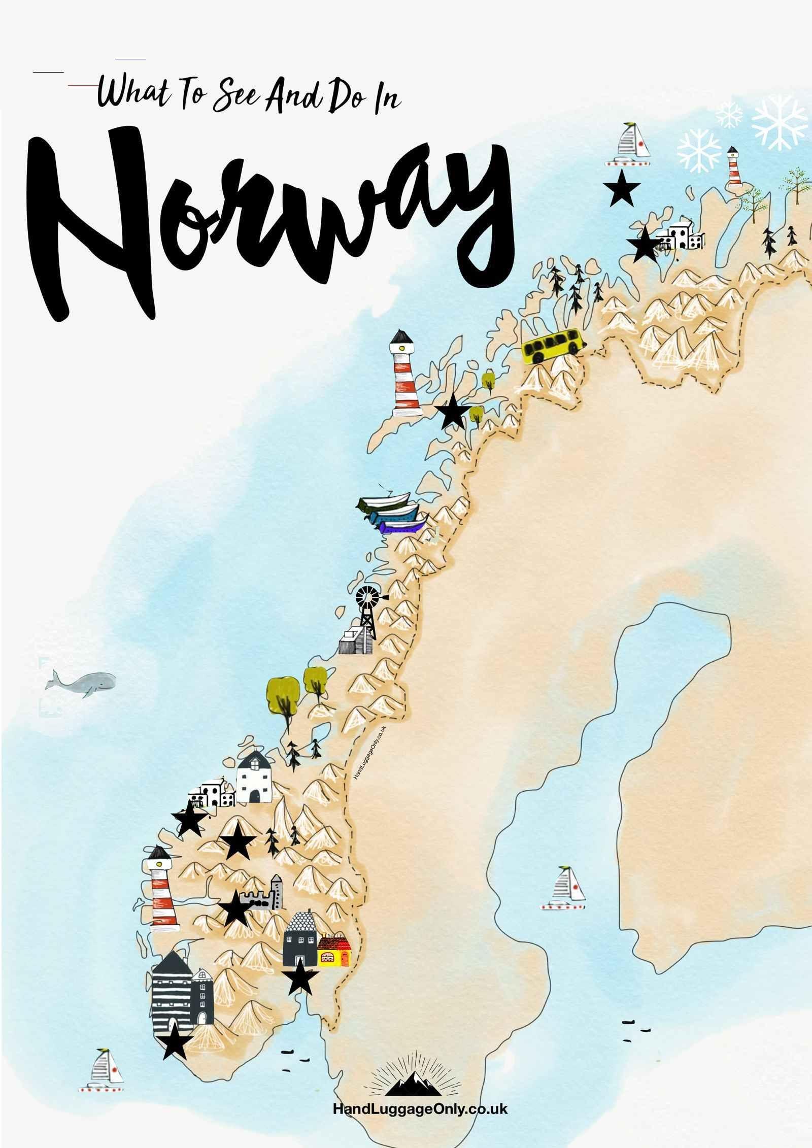 15 Best Places In Norway You Have To Visit Handluggage There Are So Many Best Places In Norway To Visit I Mean Yo In 2020 Noorwegen Reizen Noorwegen Scandinavie