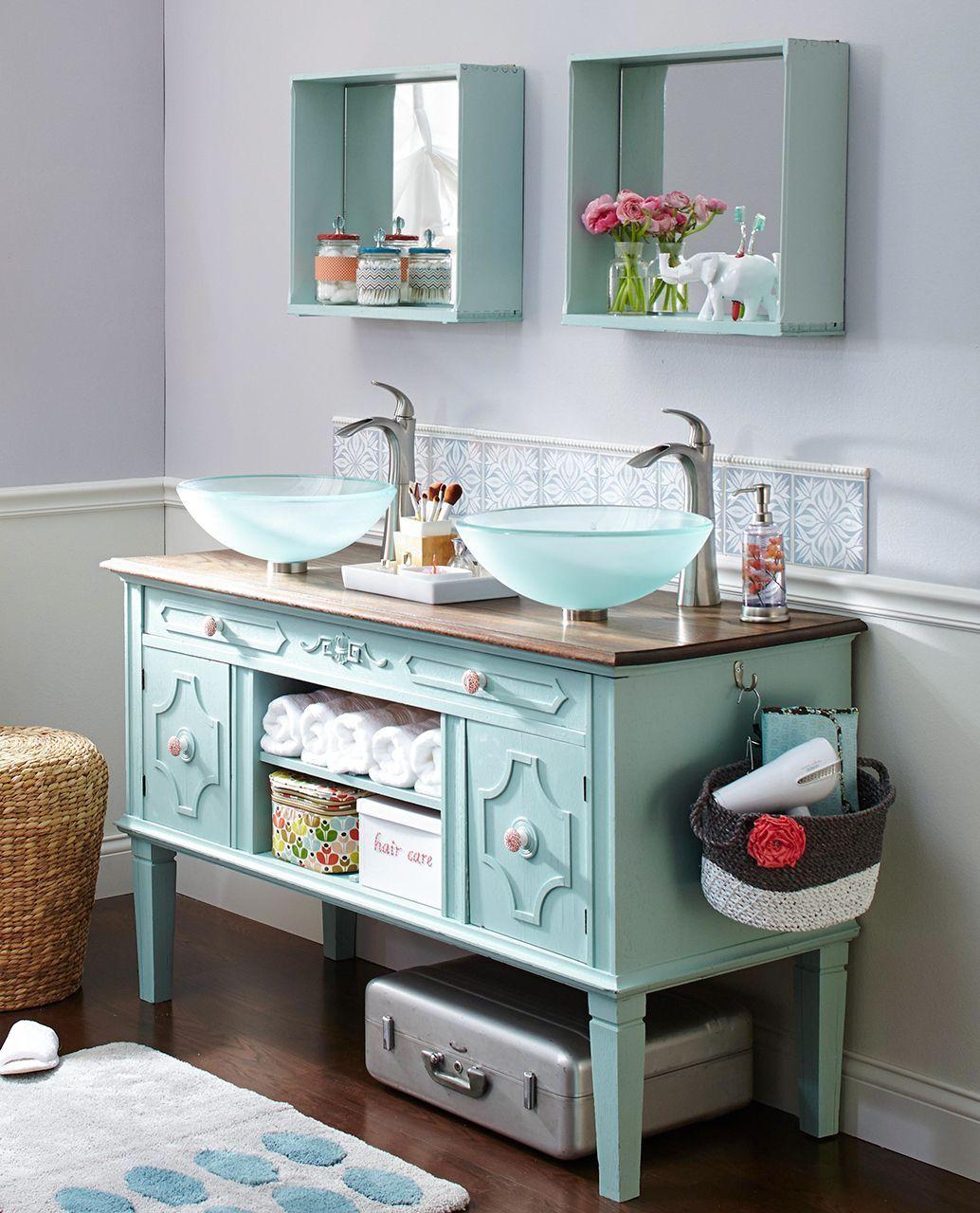 18 Diy Bathroom Vanity Ideas For Custom Storage And Style Unique Bathroom Vanity Diy Bathroom Vanity Diy Bathroom Makeover