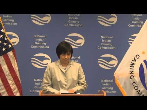 National Indian Gaming Commission. 2014 Gross Gaming Revenues Press Conference