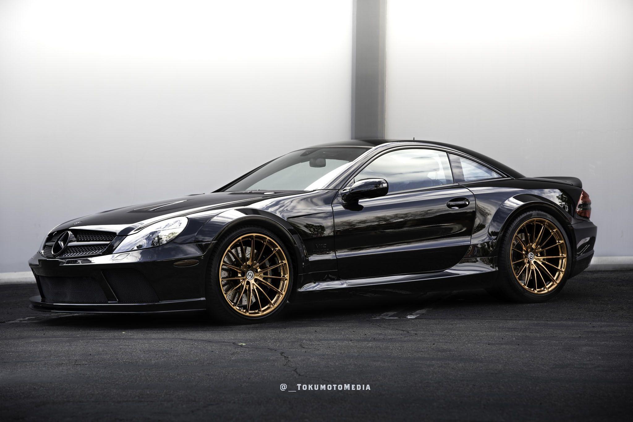 Mercedes Benz Sl65 Amg R230 Black Series Edition Hre Wheels