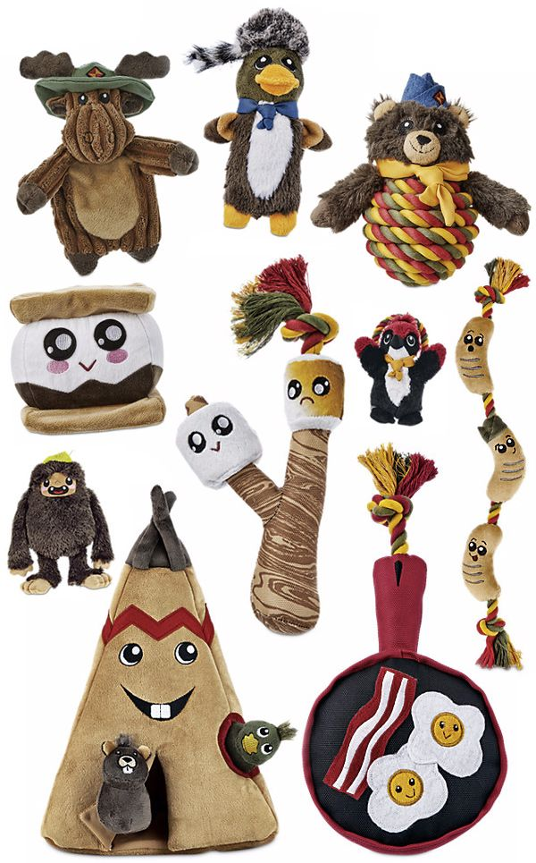 Foodie Dog Toys The Petco Leaps Bounds Camper Collection Look