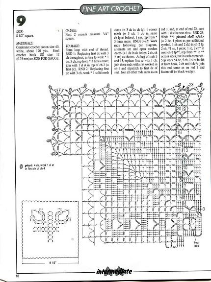 Magic crochet № 152 - Edivana - Веб-альбомы Picasa