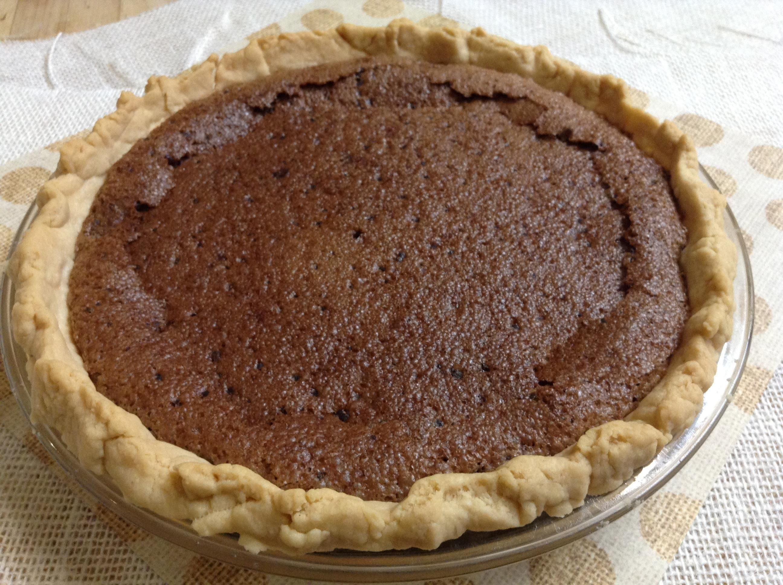 Easy Chocolate Chess Pie  Full step by step video to show how easy this is.