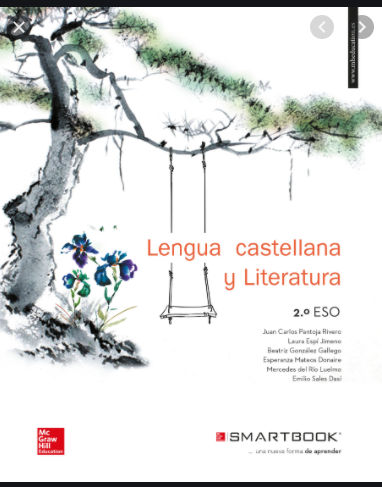 Lengua Castellana Y Literatura 2 Eso Mc Graw Hill Ejercicios Lengua Castellana Libro De Texto Literatura