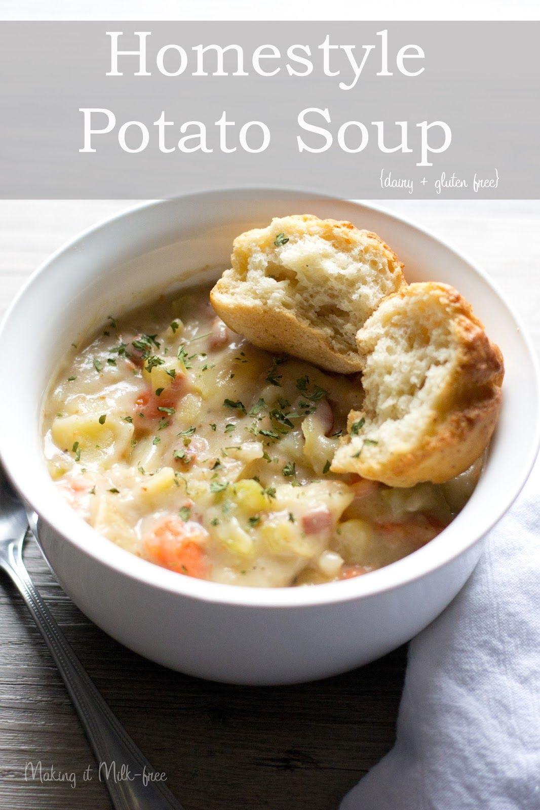 Homestyle Potato Soup | Recipe | Gluten-free Soups & Stews ...