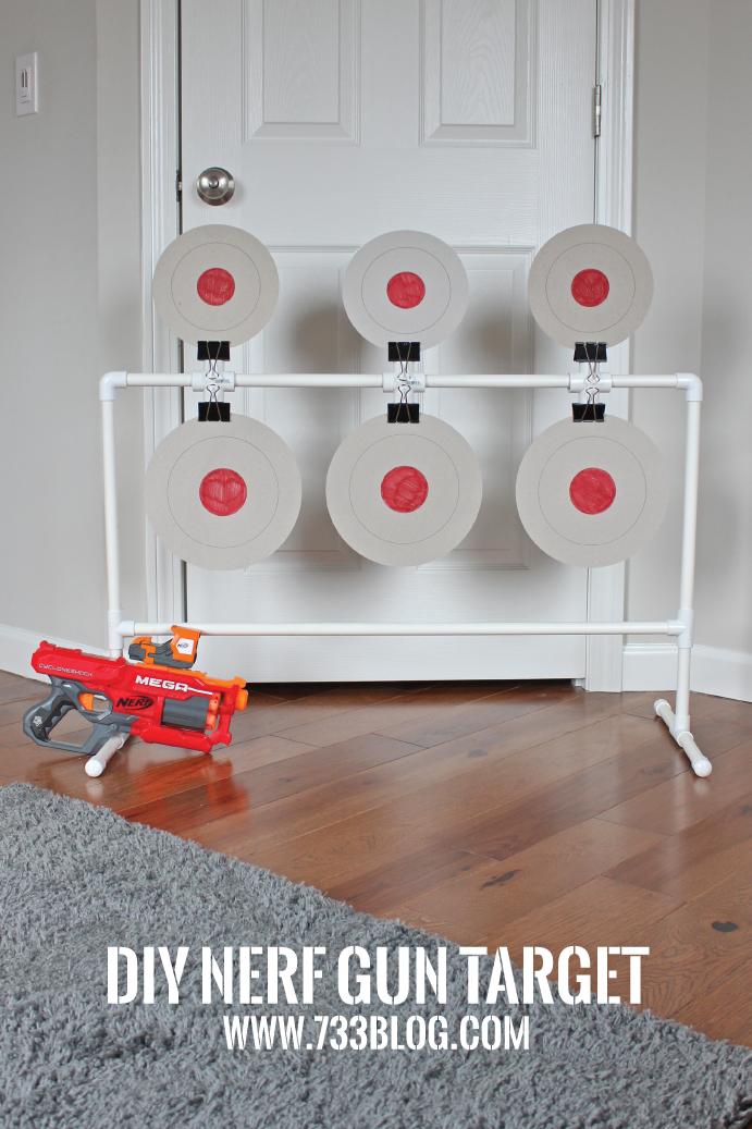 DIY Nerf Spinning Target - Inspiration Made Simple