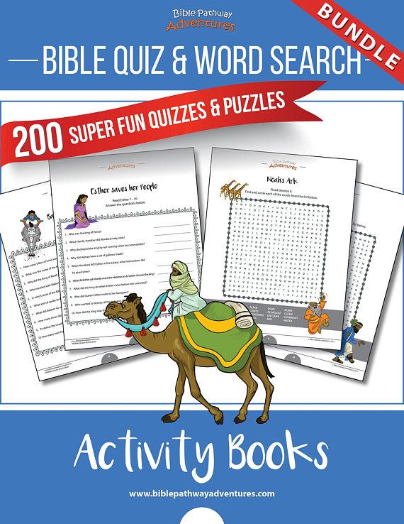 Printable Quiz Activity Book Women Of The Bible