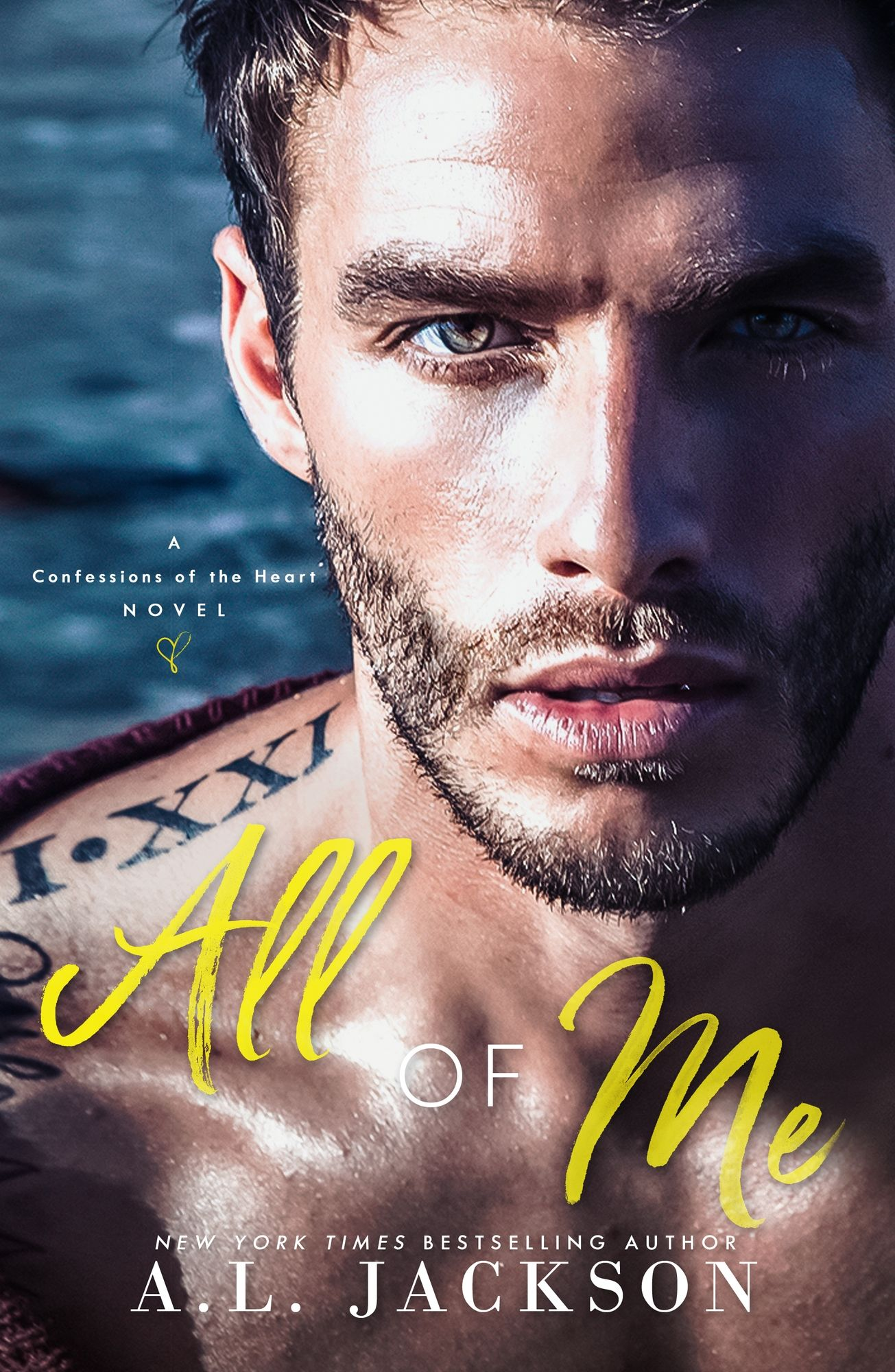 All Of Me Cover Reveal Romance Books My Confession Al Jackson