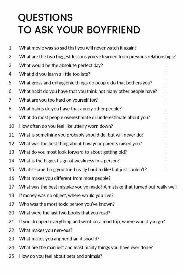 Eine schöne Reihe von Fragen für jeden der einen geliebten Menschen stellt ich würde gerne an etwas denken das Sie an jedem Tag Ihres ersten Jahres an dem Sie sich verabreden stellen möchten;