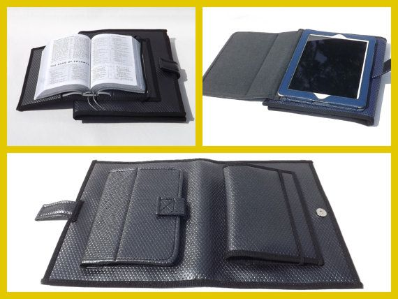 field service folio with attached bible and por bellocovers en etsy - Field Service Organizer