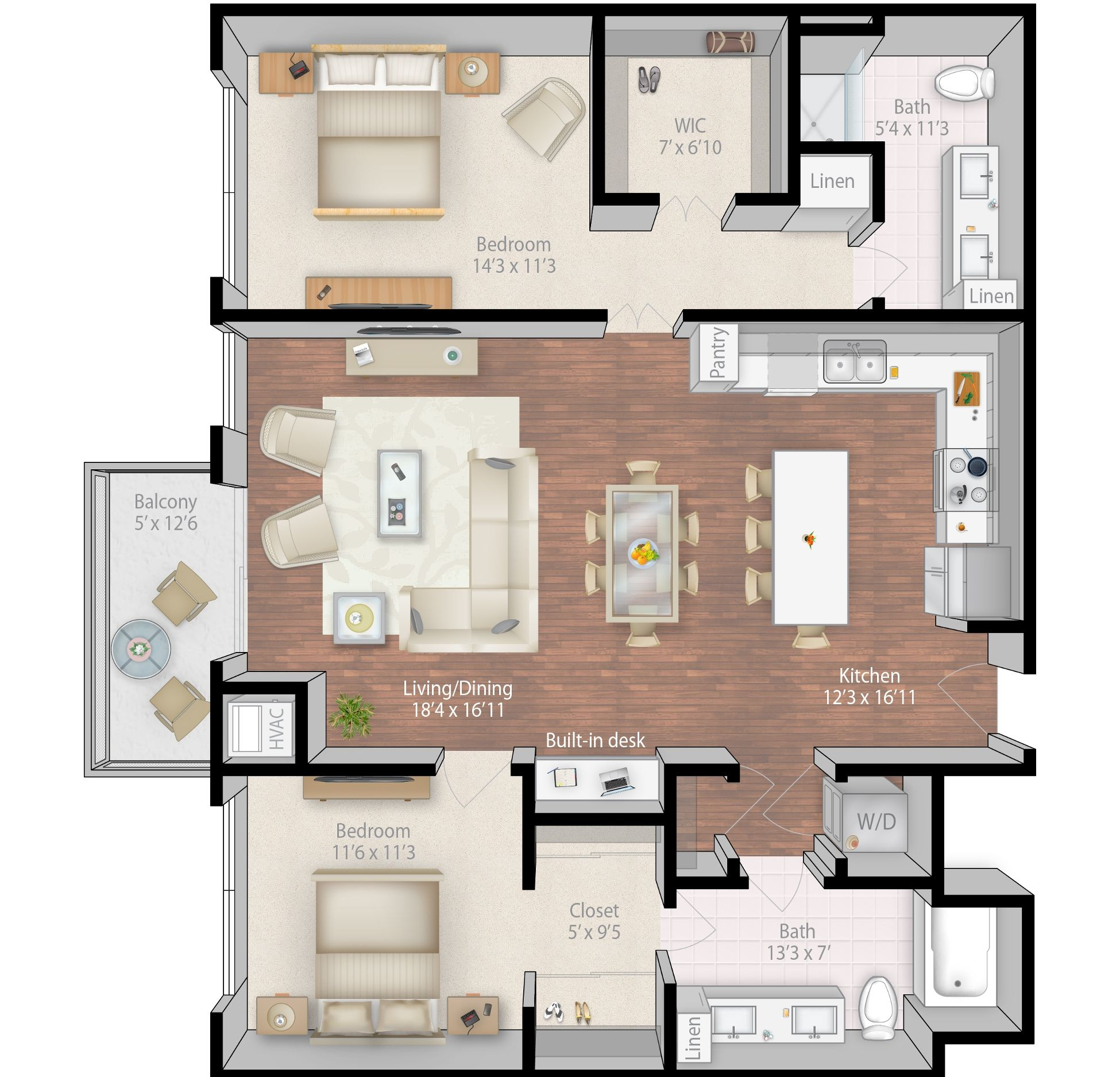 Luxury Condos Floor Plans Condo Floor Plans Apartment Floor Plans Luxurious Bedrooms
