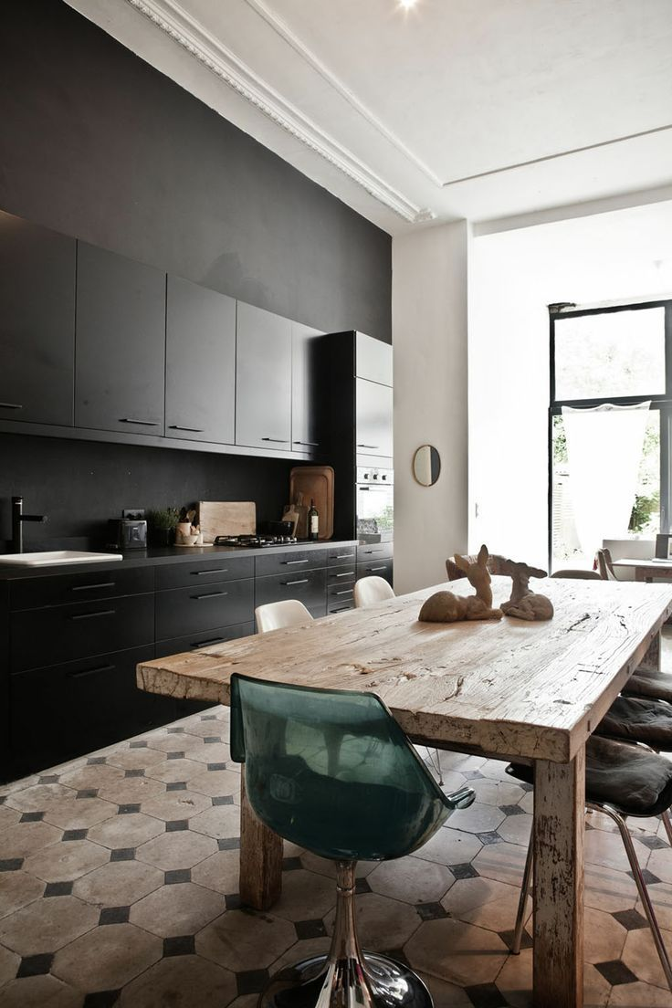 This Dining Room Kitchen Design Is A Delicious Mix Of
