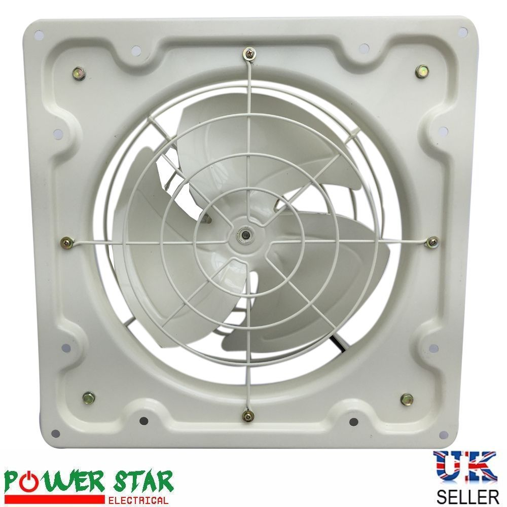 Industrial Plate Extractor Ventilation Fan With Without Shutter