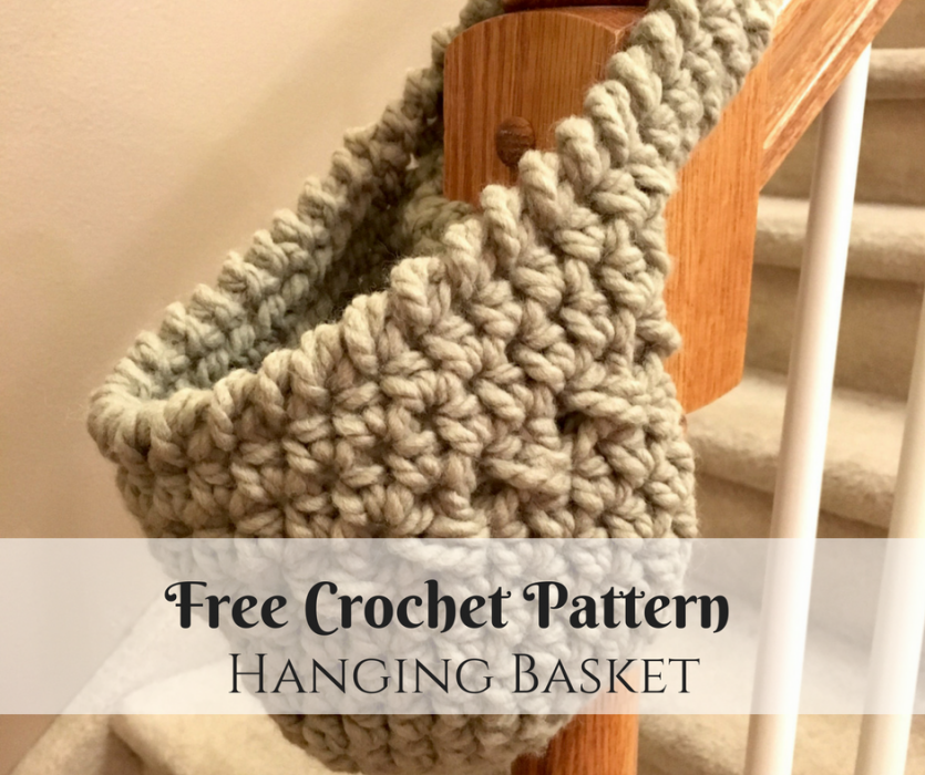 Free Crochet Pattern: The Hanging Basket
