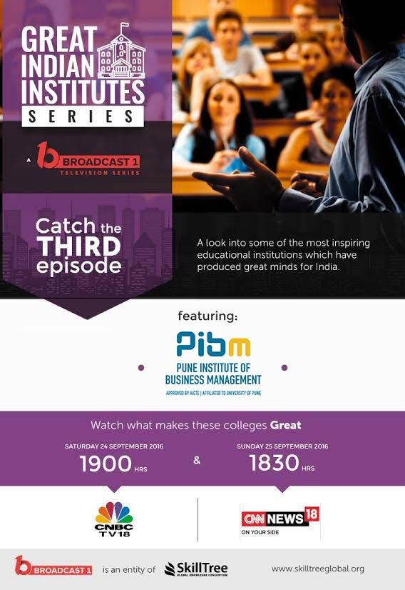 Don T Miss Our Pibm Pune In The 3rd Episode Of Great Indian