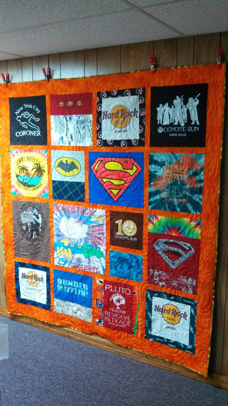 Quilting In The BunkHouse: T-Shirt Quilts