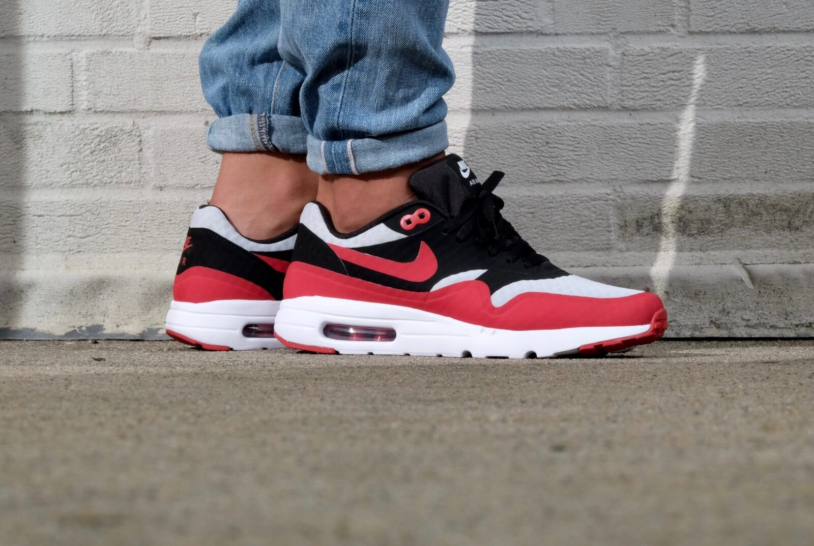 Nike air max bw premium black crimson midnight navy white