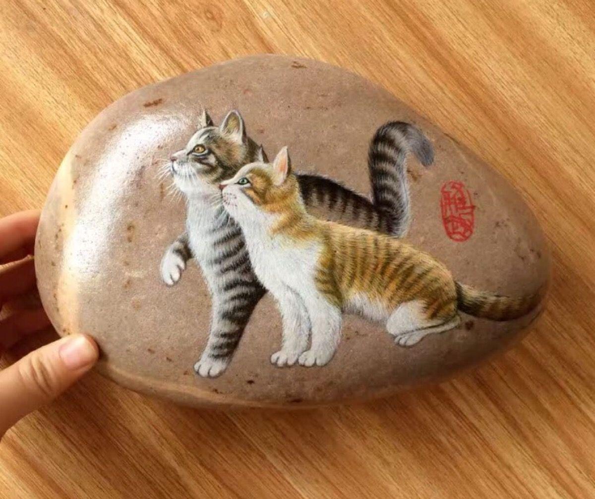 pin von robin lim auf rock painting pinterest steine. Black Bedroom Furniture Sets. Home Design Ideas
