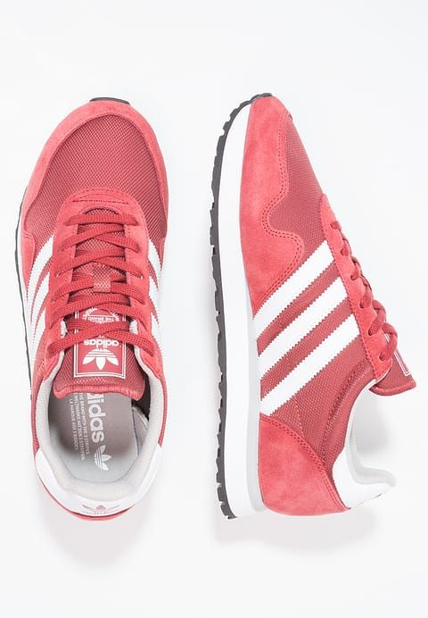 adidas Originals HAVEN - Sneaker low - mystery red  77e6c591c