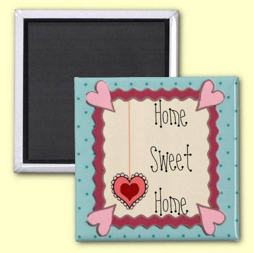 home sweet home magnet from Karen's #Country #Kitchen