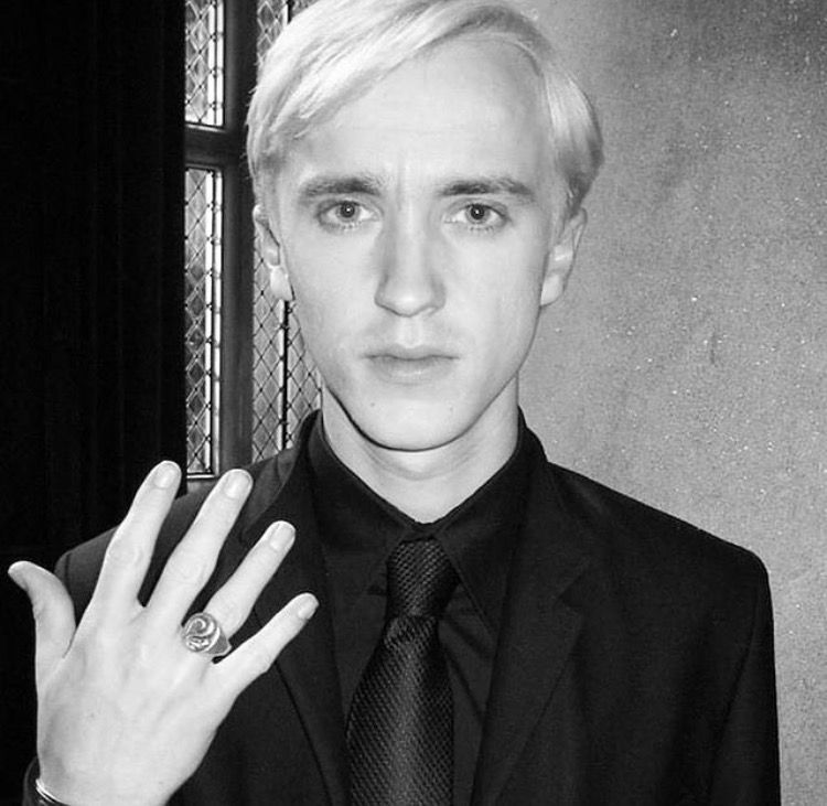 Image result for draco malfoy ring | Draco malfoy, Draco