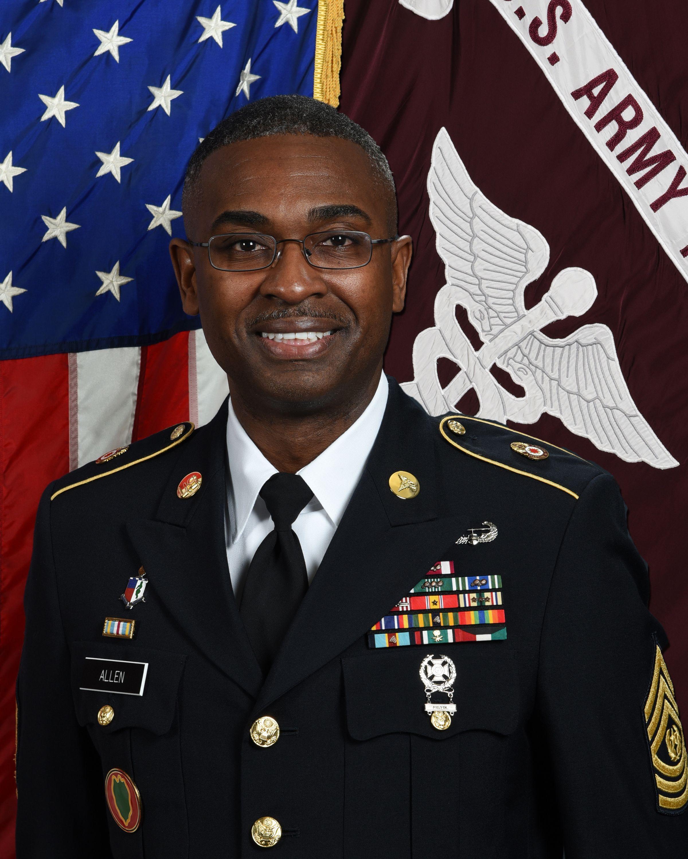 Csm timothy allen command sergeant major mcdonald army
