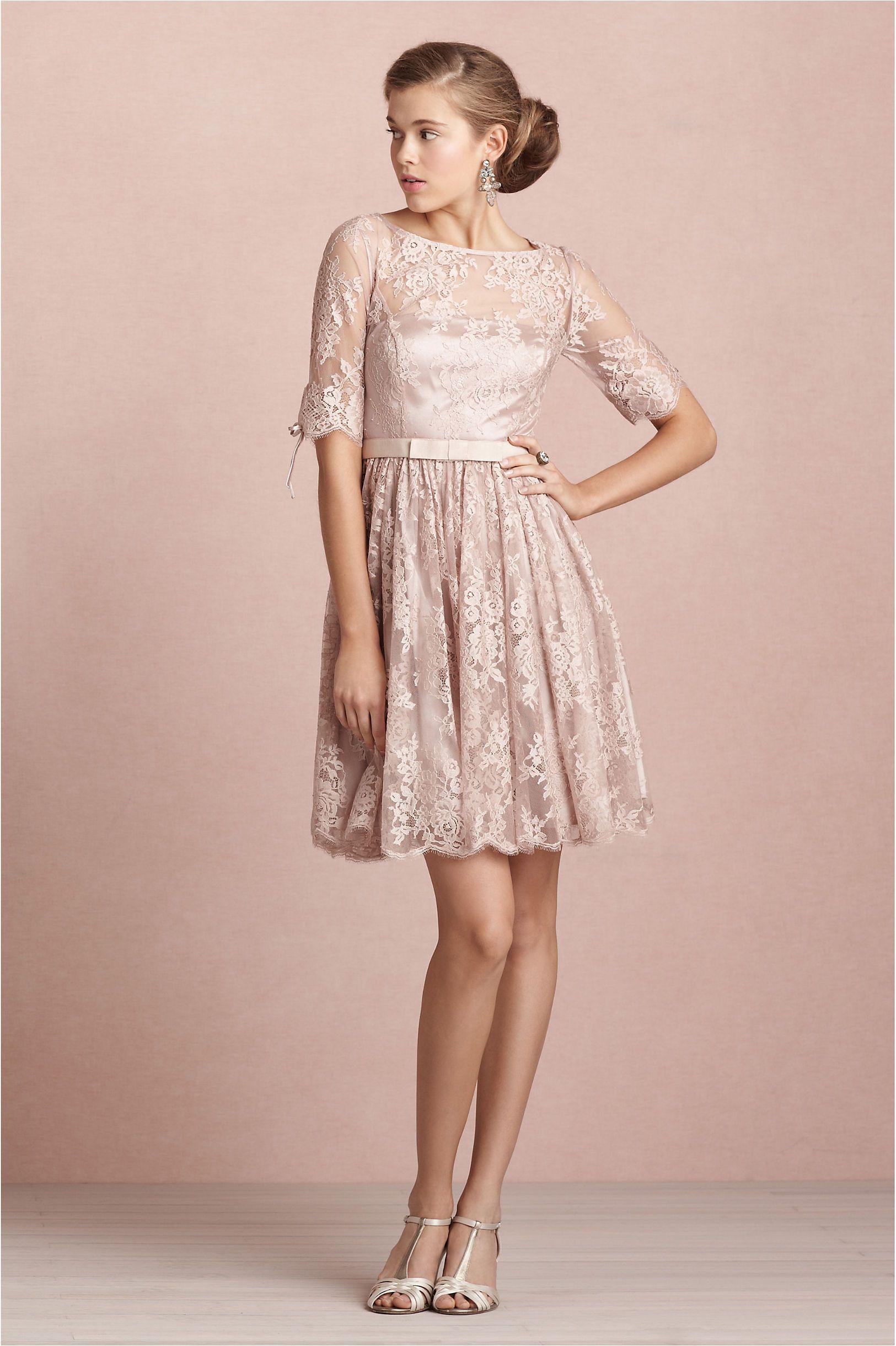 Tea Rose Dress in SHOP The Bride Reception Dresses at BHLDN