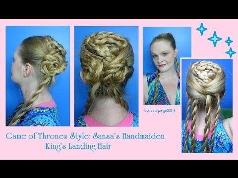 Game Of Thrones Style Sansa S Handmaiden King S Landing Hair Hair Styles Medieval Hairstyles Hair