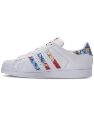 adidas Women's Superstar Casual Sneakers from Finish Line - White 6.5