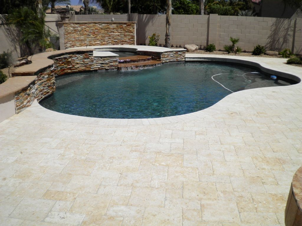Tile Over Concrete Pool Deck Marbella Pavers  Pool Decks  Pinterest  Dream Pools Decking
