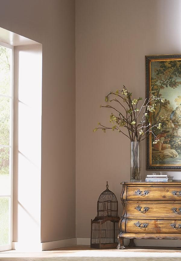 Mocha Paint Colors mauve wall color | 're located on the opposite ends of the color