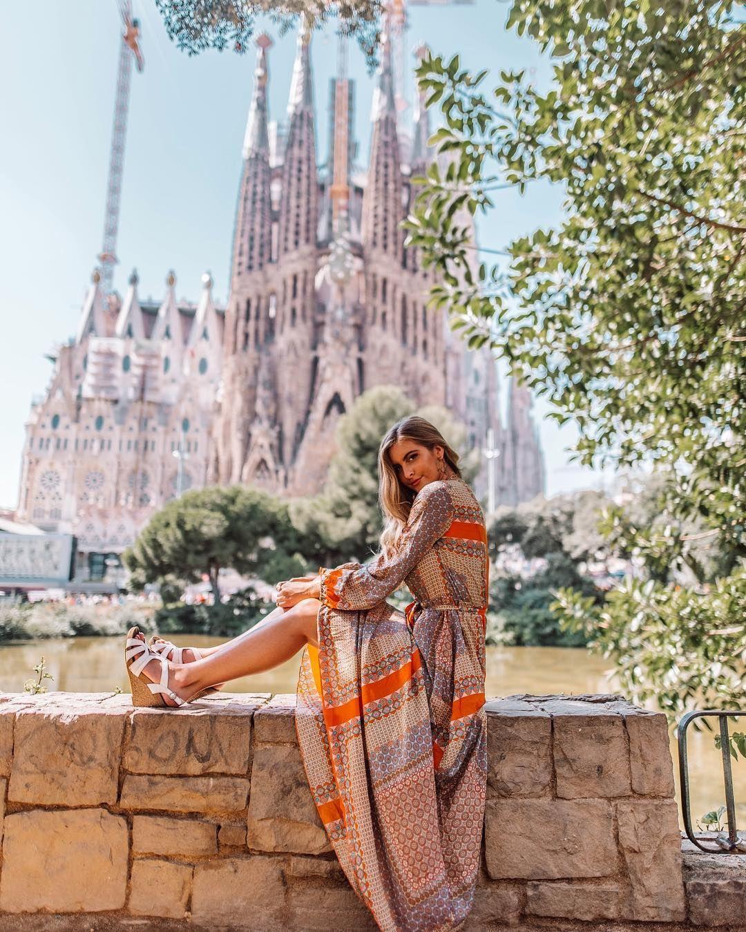 La Sagrada Familia Barcelona instagram photo idea @josie_sanders ...