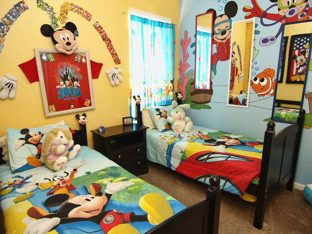 Mickey Mouse Bedroom Setting Ideas For Kids #mickeymouse #kidsbedroom